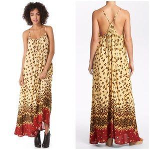 MINKPINK cheetah maxi dress